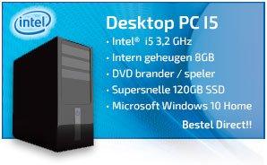 nieuwe computer i5 systeem
