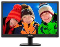 Mon Philips 18.5Inch / LED / 5MS / VGA / RFG