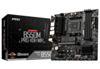 MSI B550M PRO-VDH WIFI moederbord AMD B550 Socket AM4 micro ATX